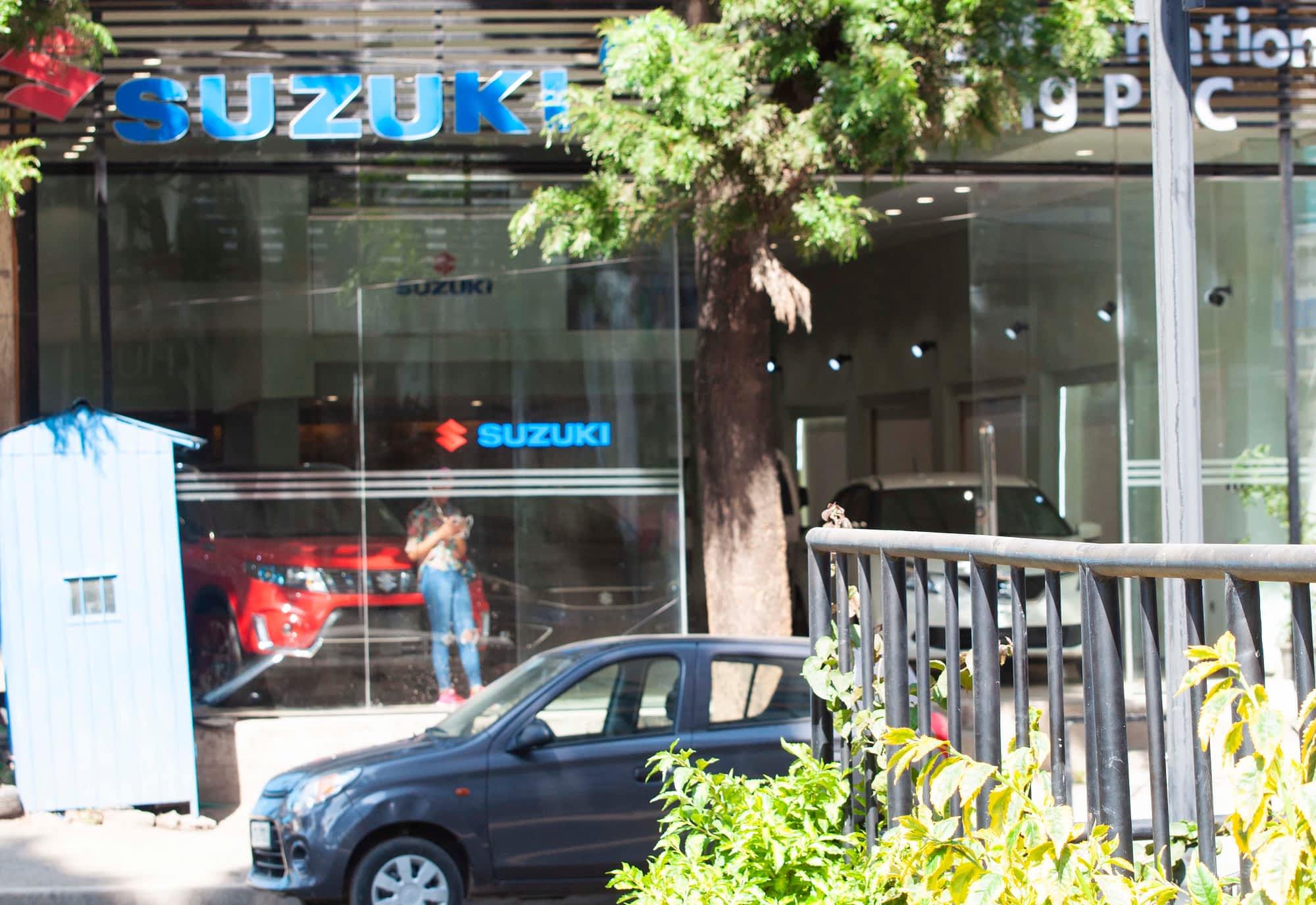 Suzuki Show room tamrin